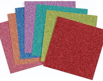 """12 x 12 """"GLITTER"""" 14 Individual Sheets ~ Paper  ~ Hot of the Press ~ Paper Wishes // Glitter // Holiday // Bling"""