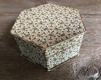 French Chocolate Box, Bon Bon Box, 1920s, Boudoir Keepsake