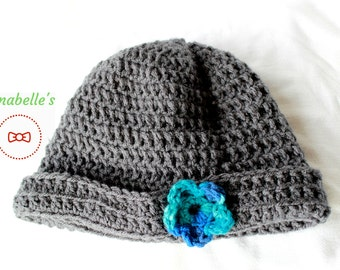 Crochet Beanie (with or without applique)