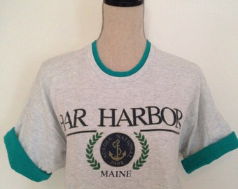 Vintage Bar Harbor Maine 90s Tshirt
