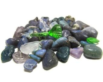 Fiftyseven Heaven, Leland Bluestones, Bluestone Chips, Authentic Bluestones, Sea Glass, Beach Glass, Lake Michigan, Mosaic Glass, Supply