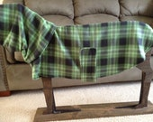 Greyhound Fleece Coat w/detachable snood