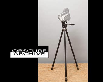 SUN RAY Photo Co. Tripod with SILK Head - Vintage Quality - Great for displaying a classic camera