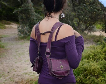 purple holster , shoulder holster , holster bag