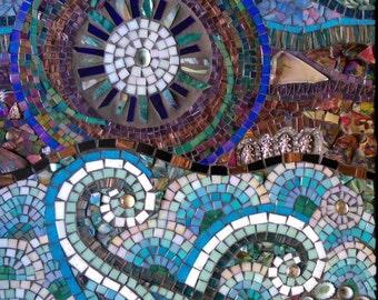 Ocean and Sun Mosaic