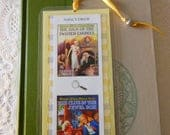 Nancy Drew Vintage Sign of Twisted Candles Clue in the Jewel Box Bookmark - Laminated double sided
