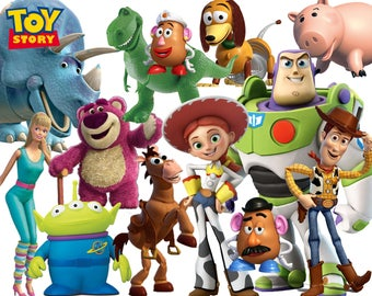 Best collection of 135 TOY STORY clipart - 135 high quality Toy Story CLIPART - 135 Toy Story Graphics !!! 1 frame included !!!