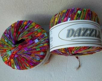 Yarn Sale  - Fruit Punch 114 Dazzle by KFI
