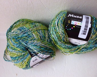 Yarn Sale  - Greens and Blue 11 Muse by Stacy Charles