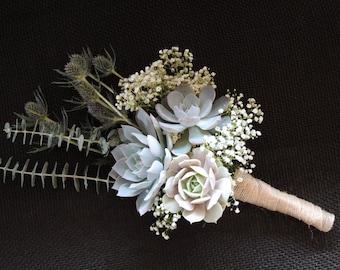 Succulent bouquet (3 rosettes)