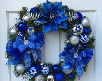 HANUKKAH SALE Hanukkah Wreath