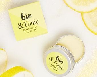 Gin and Tonic Lip Balm - New Lip Balm  - Lip Balm - Gin Lip balm - G and T - Gin gift - Gin Wedding favour - Gin & Tonic Lip Balm - best lip