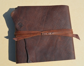 Fathers Day Gift, Leather Journal, Handmade Gift for Father, Travel Notebook, Gift for Father, Gift for Dad, Diary, Ready to Ship (626)