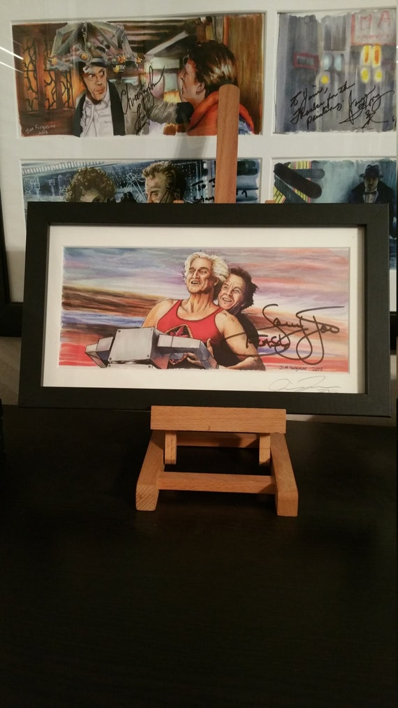 """Autographed Ted - He'll Save Everyone of Us Even Marky Mark Signed by Sam Jones """"Flash Gordon"""""""