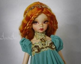 Oriental Princess dress set clothing for bjd slim msd mnf minifee a-line dollfie dolls size fantasy empress style