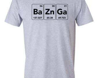 Ba Zn Ga. Funny T-shirt by RoAcH