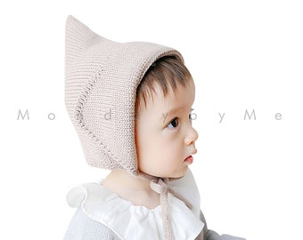 Knitted Elf hat for Kids baby toddler
