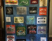 Custom Puzzle T Shirt Quilt for Patty S. - Final Payment