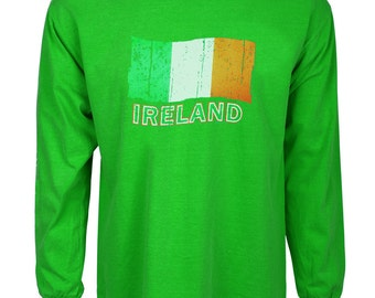 Ireland Flag t-shirt st patrick's day gift idea Irish green tee