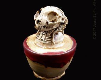 Bast 2 Canopic Jar/Funerary Urn