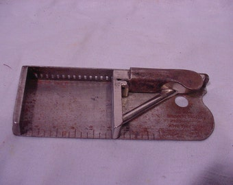 Printers Type Setting Holder, The Pica Stick by H.B. Rouse &Co.