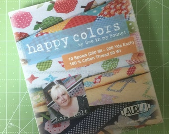 Happy Colors Aurifil Collection