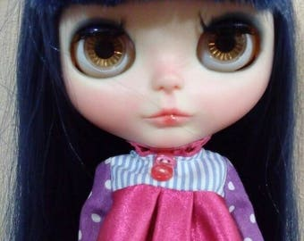 Custom Blythe Dolls For Sale by OOAK Sweet Blue (Factory Blythe)