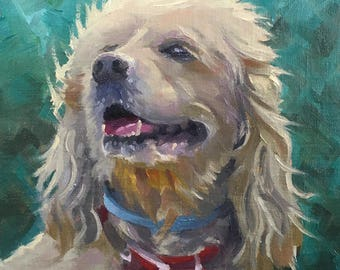 Custom- Pets - Portraits - Oil- Made to Order - Cats - Dogs - Pug - Mutt - Lab -bernese mountain - Animals - Commissions - Oil Painting