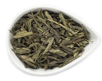 Green Earl Grey Tea / Organic Loose Leaf Tea / Green Tea / Earl Grey / Fair Trade Tea