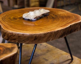 African Coffee Table