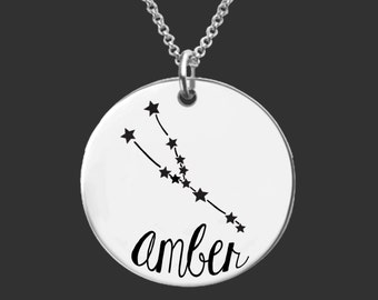 Taurus Zodiac Necklace | Taurus Necklace | Astrology Necklace | Personalized Gifts | Korena Loves