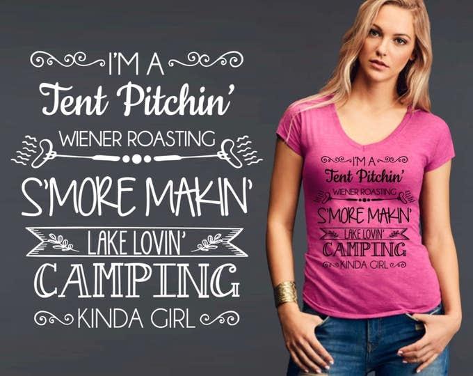Camping | Camping T-Shirt | Camping Shirt | Country Shirts | Custom T-shirts | Personalized T-shirts | Inspirational T-shirt | Korena Loves