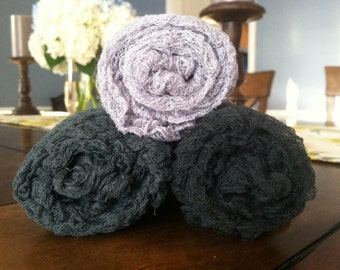 SET of 3 GRAYS  Cheesecloth  PHOTOGRAPHY Wraps...Newborn Wraps Cheesecloth wraps