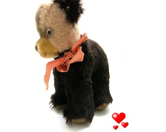 Vintage Steiff  Bear Tapsy / Model from 1973/76 / young bear