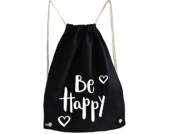 Gym Bag Be Happy
