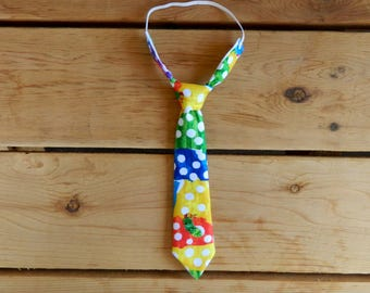 The Very Hungry Caterpillar Themed Adjustable Infant/Toddler Neck Tie or Bow-Tie: 0-18 Months, 2T-4T, 5T/6T, 7/8