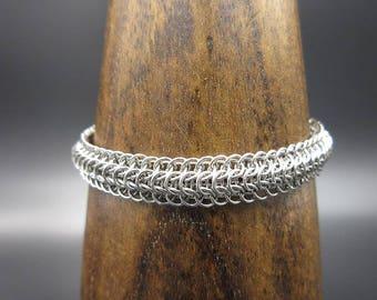 Micro Stainless Steel Dragonback Bracelet