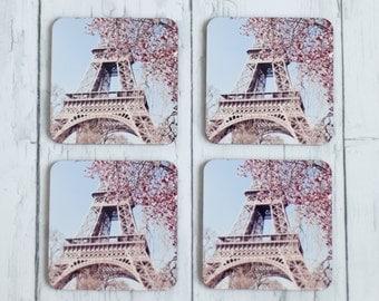 coasters - spring in paris