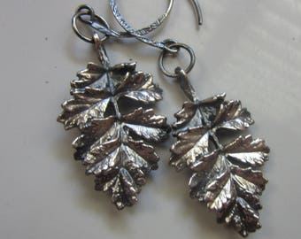 DISCOUNT 40% - Silver Leaves Earrings