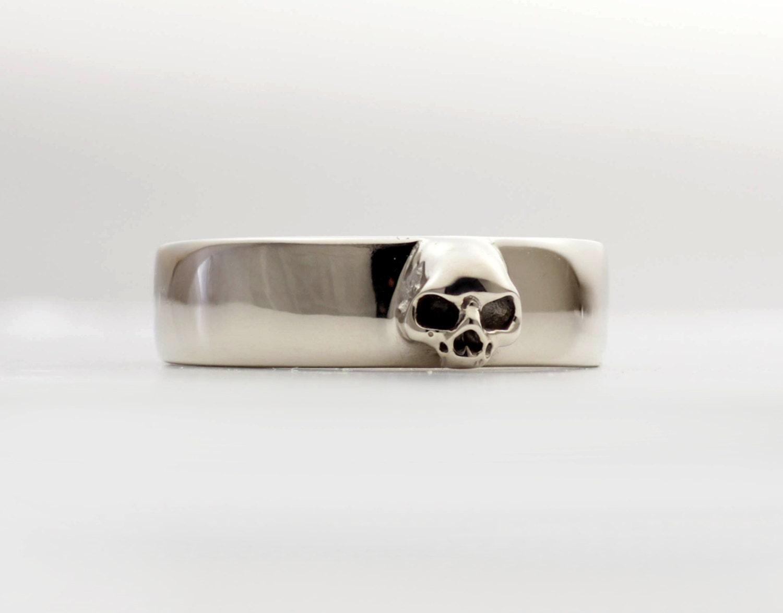 mens skull ring sterling wedding band wed set all sizes gallery photo gallery photo gallery photo - Mens Skull Wedding Rings