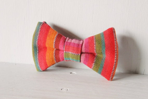 Dog bow tie >> Purple, green, teal, maroon, orange bow with elastic >> Pet gift
