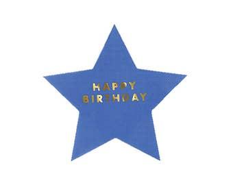 Jazzy Stars Paper Napkins, Large, Meri Meri, Party Decor, Party Supplies, Tableware, Under The Stars, Birthday, Party Theme