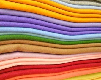 "Holland 100% Merino Wool Felt - Single Sheets 18"" x 18"""
