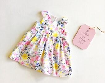 SALE - Floral Party Dress