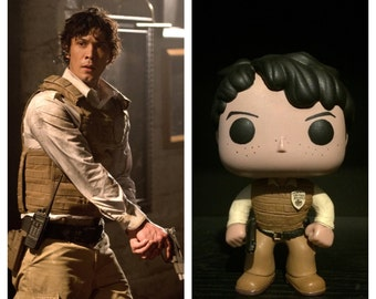 "Custom Funko Pop: Bellamy Blake from ""The 100"""