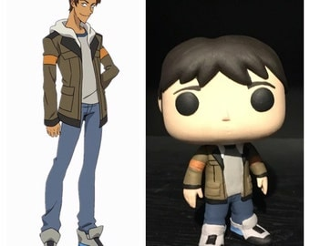 "Custom Funko Pop: Lance from ""Voltron"""