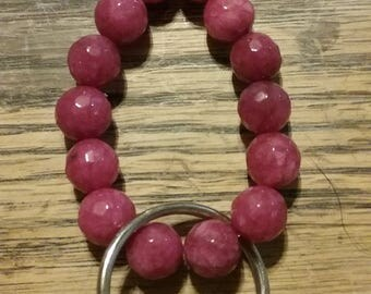 Red Beaded Key Chain 5