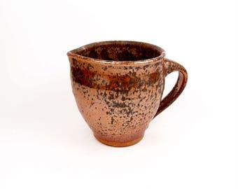 Little creamer pitcher in copper brown