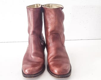 FRYE Frye BOOTS Frye Boots 8.5 Frye CAMPUS Boots Vintage Frye Boots Campus Boots Boots Cowboy Boots Mens Boots Leather Boots Boots Men Boots