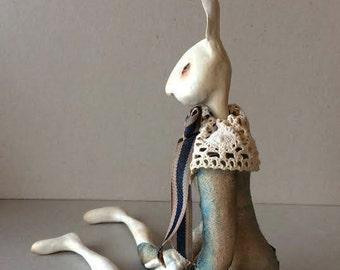 "Art doll OOAK ""The Bunny """